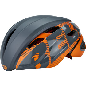 Bell Z20 Aero MIPS Casco, matte/gloss slate/orange